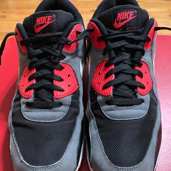 e25d700350 Nike Shoes | Air Max 90 Classic Black Infrared | Poshmark